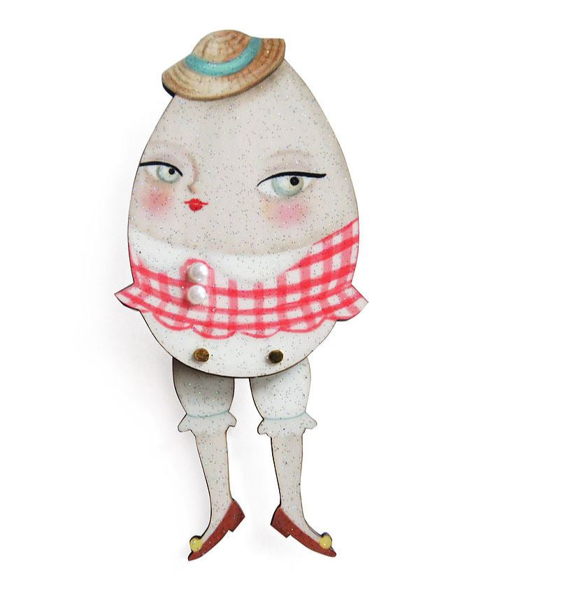 Egg Girl Brooch