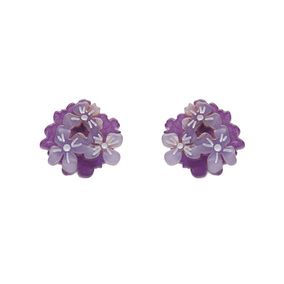 Erstwilder Heartfelt Hydrangea Earrings