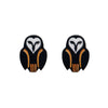 Erstwilder Owl Ornamental Earrings