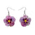 Erstwilder Purple Prose Earrings
