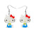 Erstwilder x Hello Kitty Take a Break Earrings