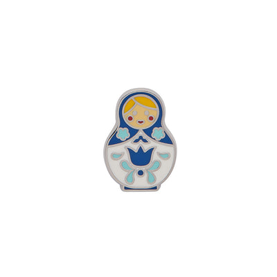 Erstwilder Matryoshka Memories Small Enamel Pin