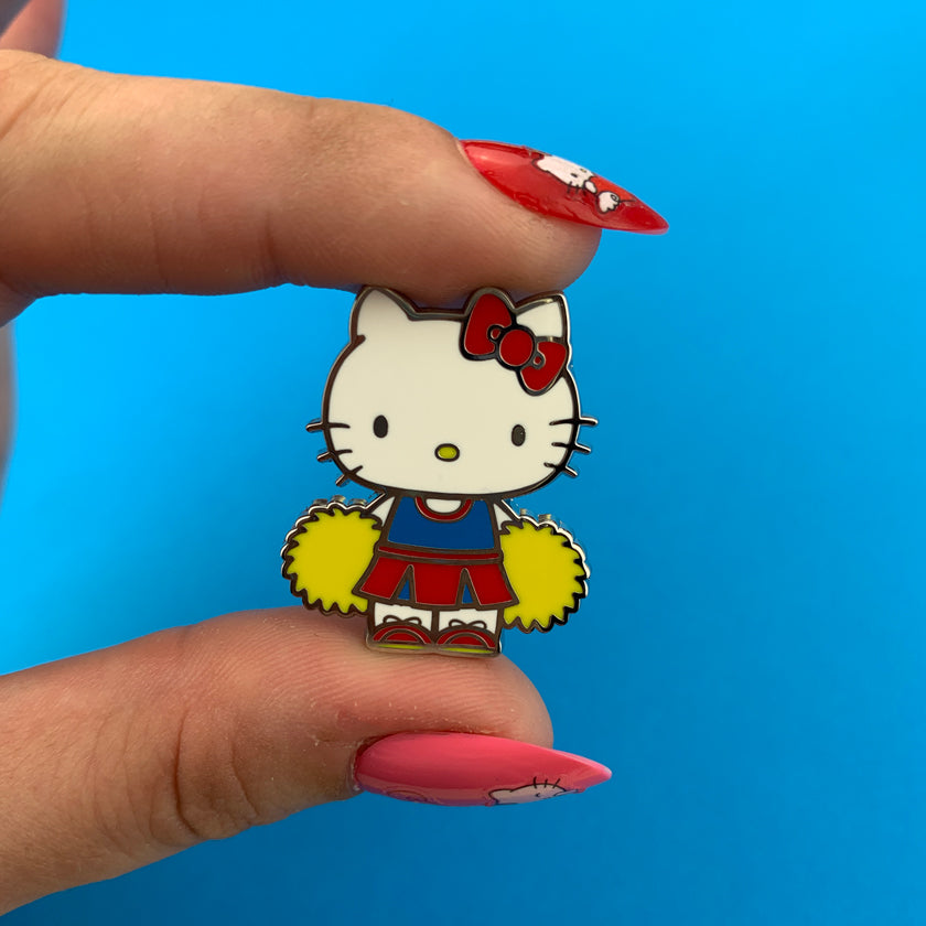 Erstwilder x Hello Kitty Cheerleader Enamel Pin