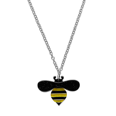 Erstwilder Babette Bee Pendant Necklace