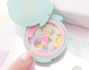 I love Crafty Polly Pocket Brooch