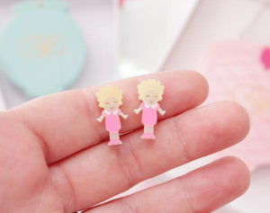 I love Crafty Polly Pocket Earrings