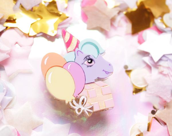 Pony Party Brooch