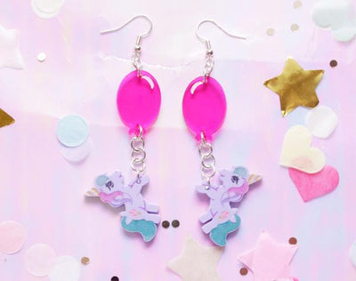 Pony Party Earrings