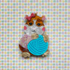 Peggy the Guinea Pig Brooch
