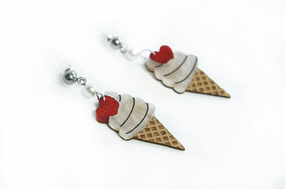 LaliBlue Ice Cream Earrings