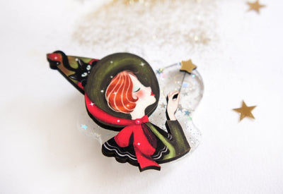 LaliBlue Sorceress Brooch *Pre order for 13 July*