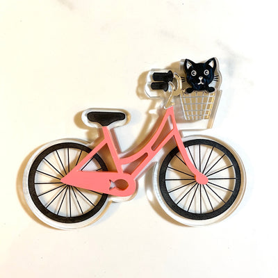 Bicycle Brooch by Poly Paige