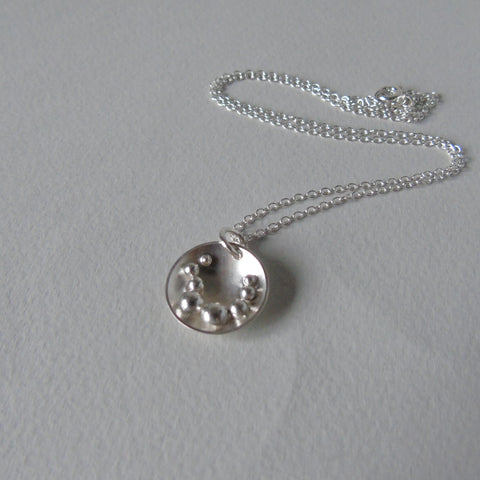 silver Selene small necklace