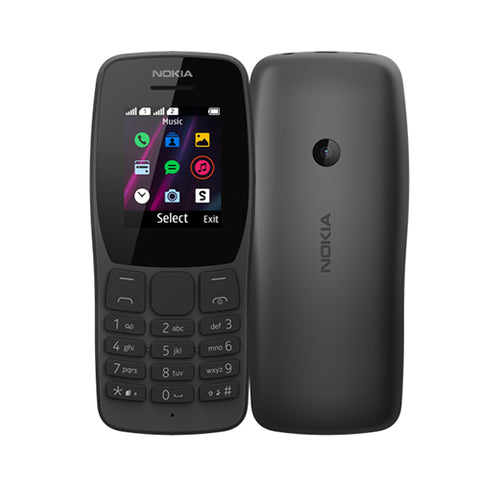 Nokia 110 feature phone 1.77'' Dual Sim Torch VGA-N