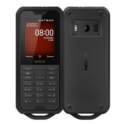 Nokia 800 ruggedised feature phone 2.4'' Dual Sim
