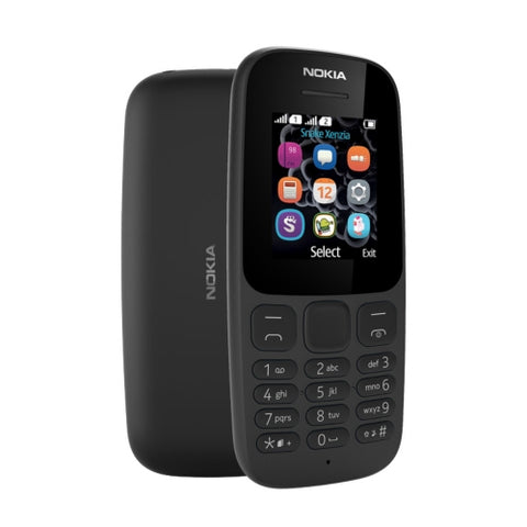 Nokia 105 feature phone 1.77'' Dual Sim Torch FM R-N