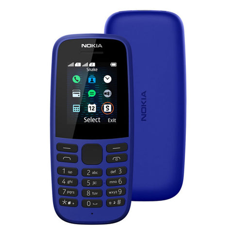 Nokia 105 feature phone 1.77'' Dual Sim Torch FM R-B