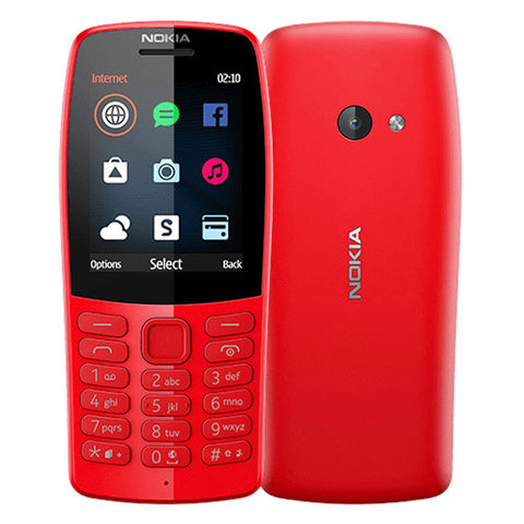 Nokia 210 feature phone 2.4'' Dual Sim Torch VGA C-R