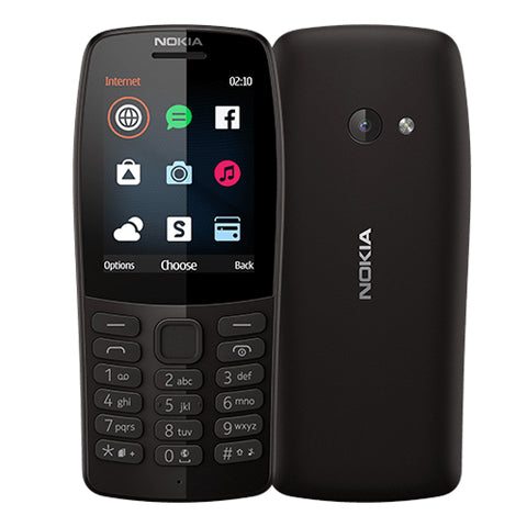 Nokia 210 feature phone 2.4'' Dual Sim Torch VGA C-N