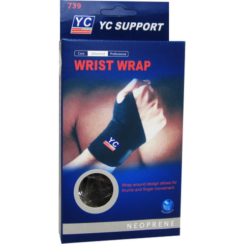 WRIST BRACE YC SUPPORT with strap EXTRA COMPRESSION *wrist
