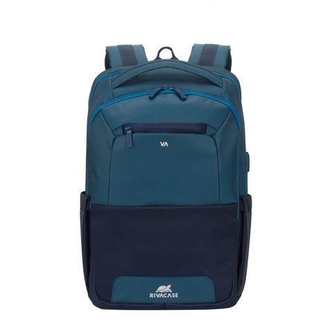 7767 steel blue/aquamarine Laptop backpack 15.6""
