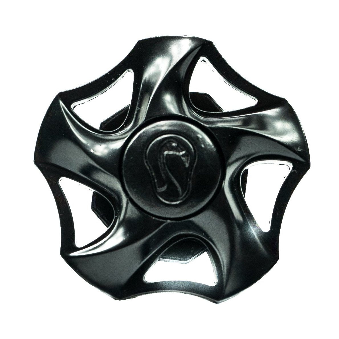 Fidget Spinner Butt End- Black