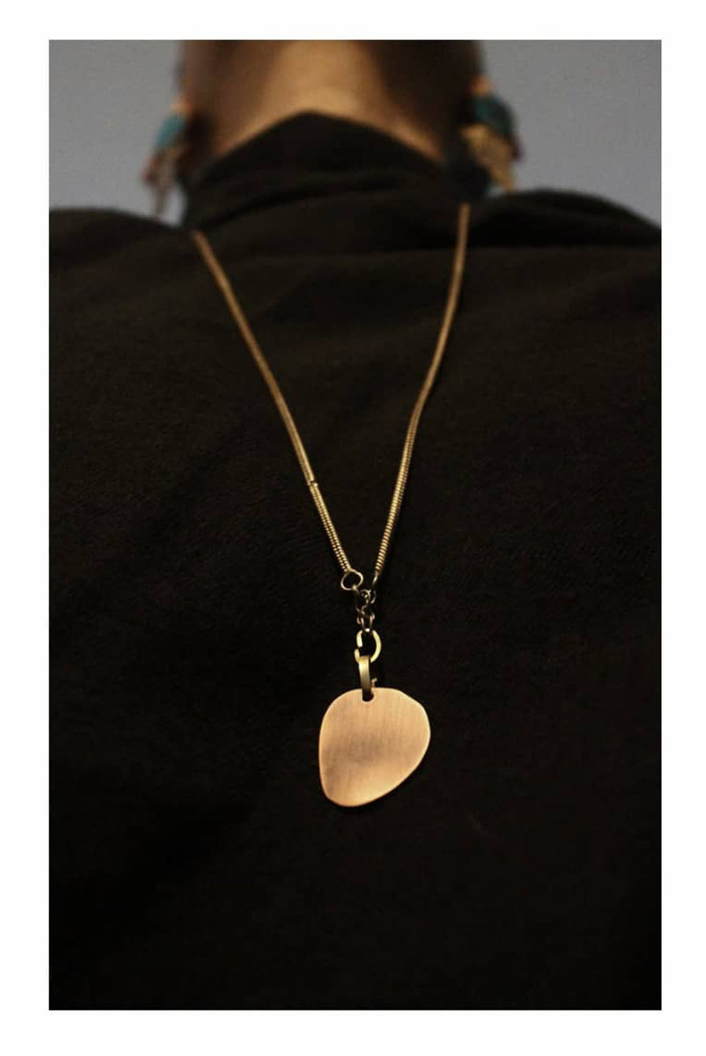 copper-blot pendant-chain