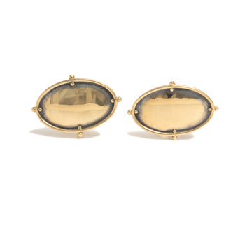 Oval Cuff Links