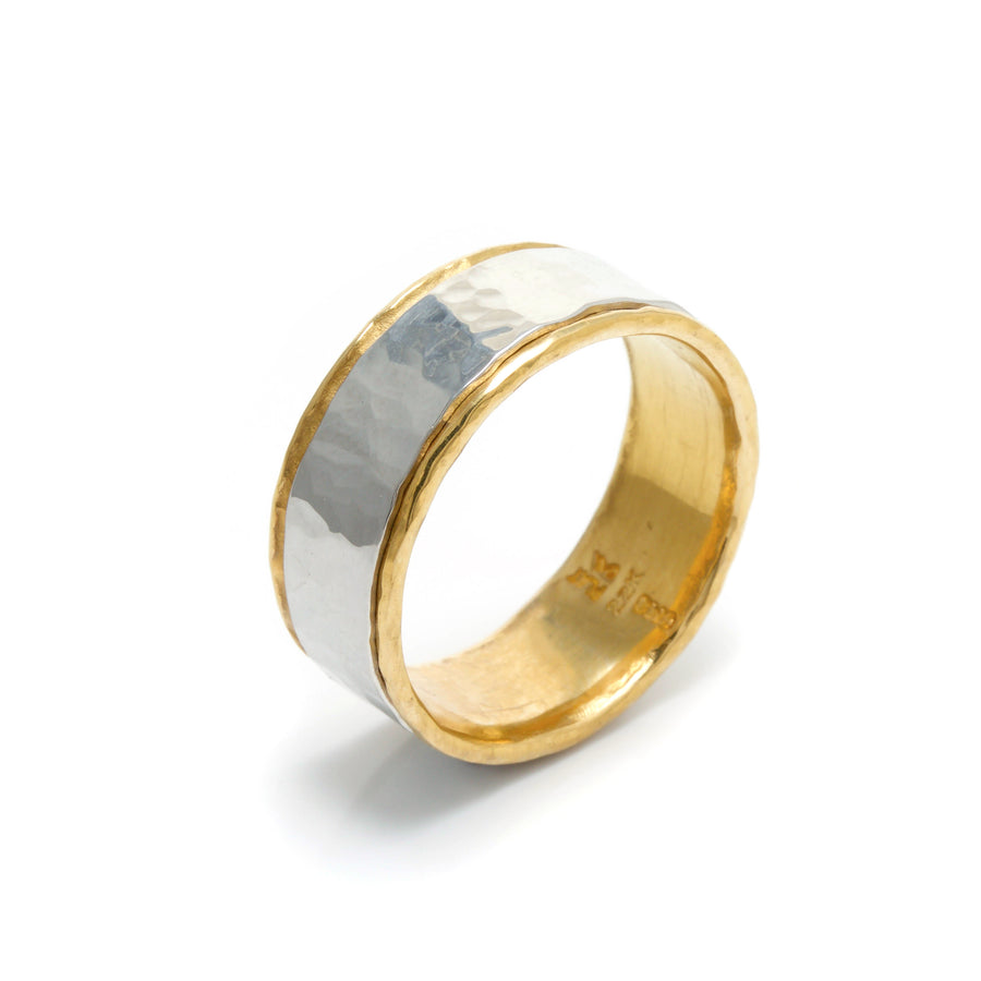 Platinum & 22K Gold Wedding Band