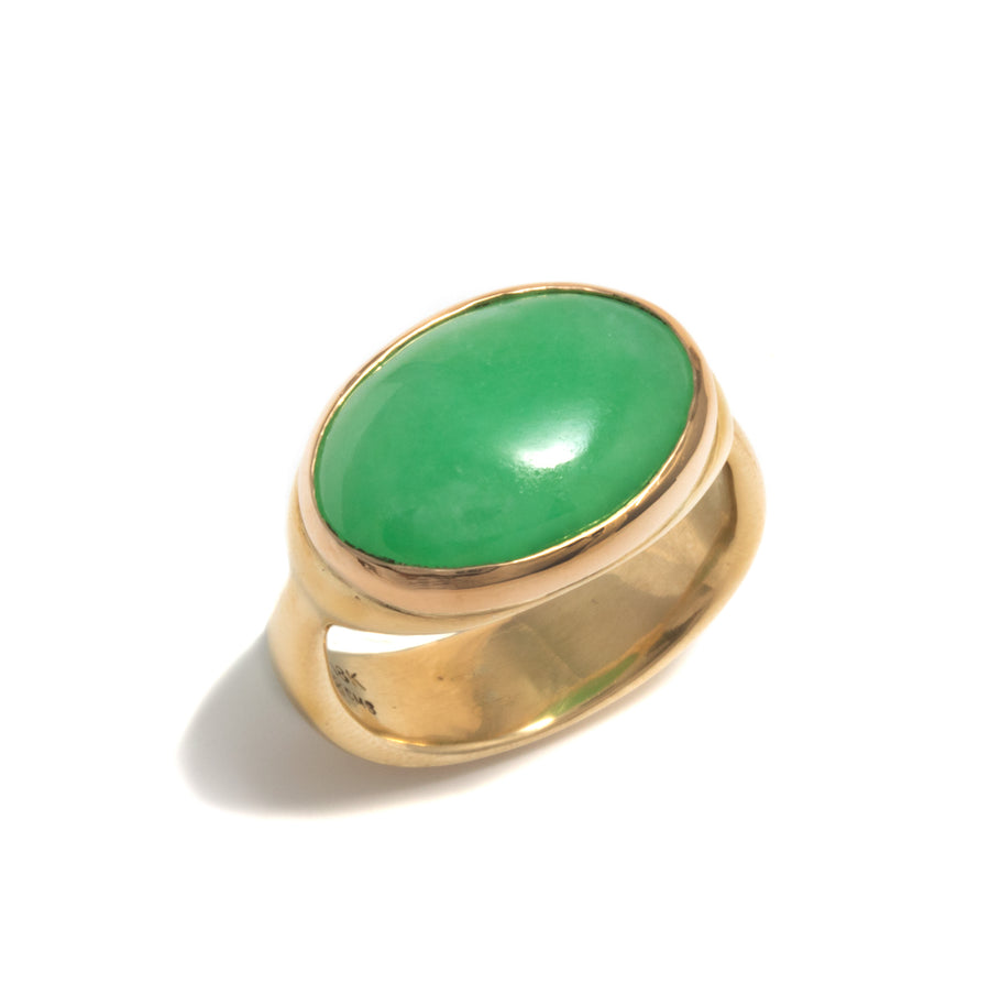 Large Jadeite Ring