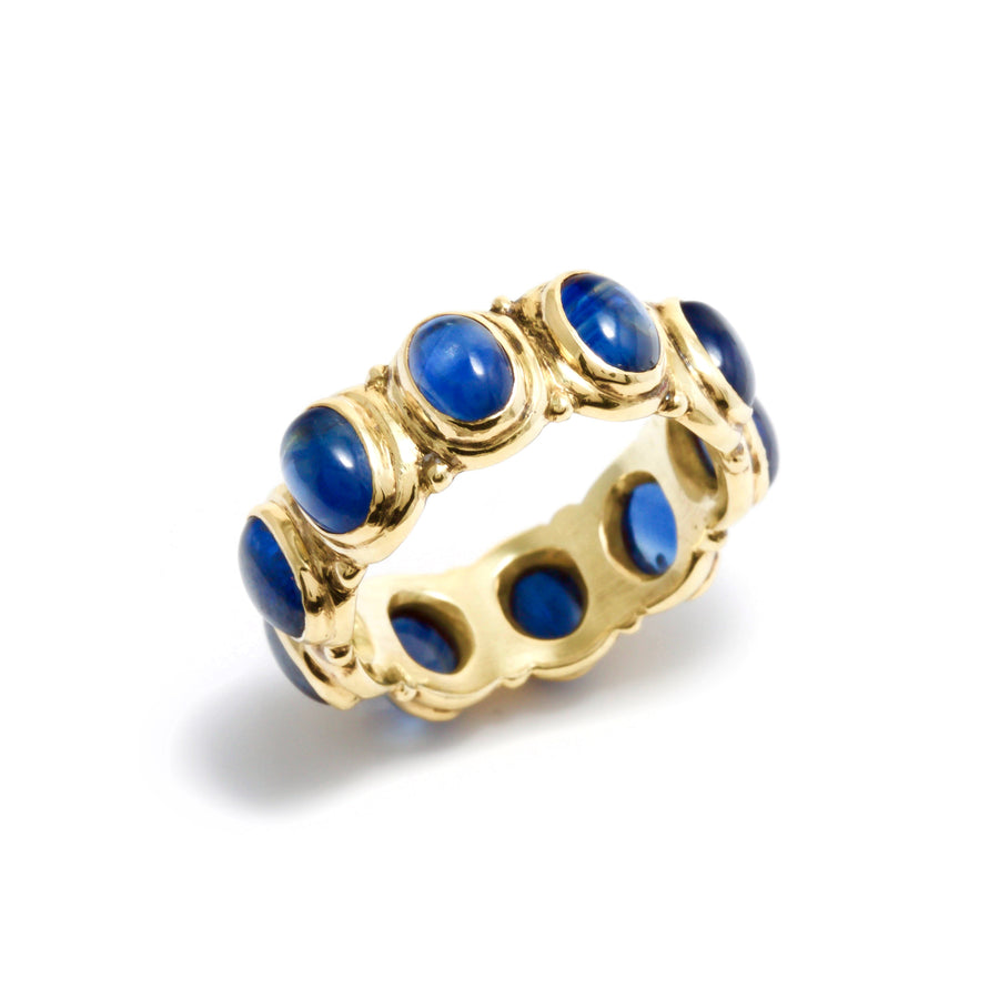 Blue Sapphire All-Around Ring