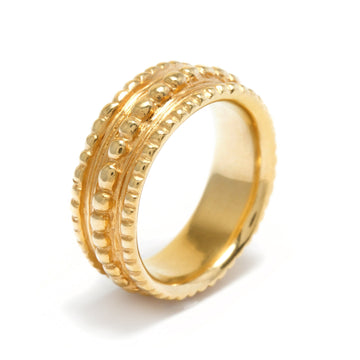Mini Ring of Minos in 22K Gold