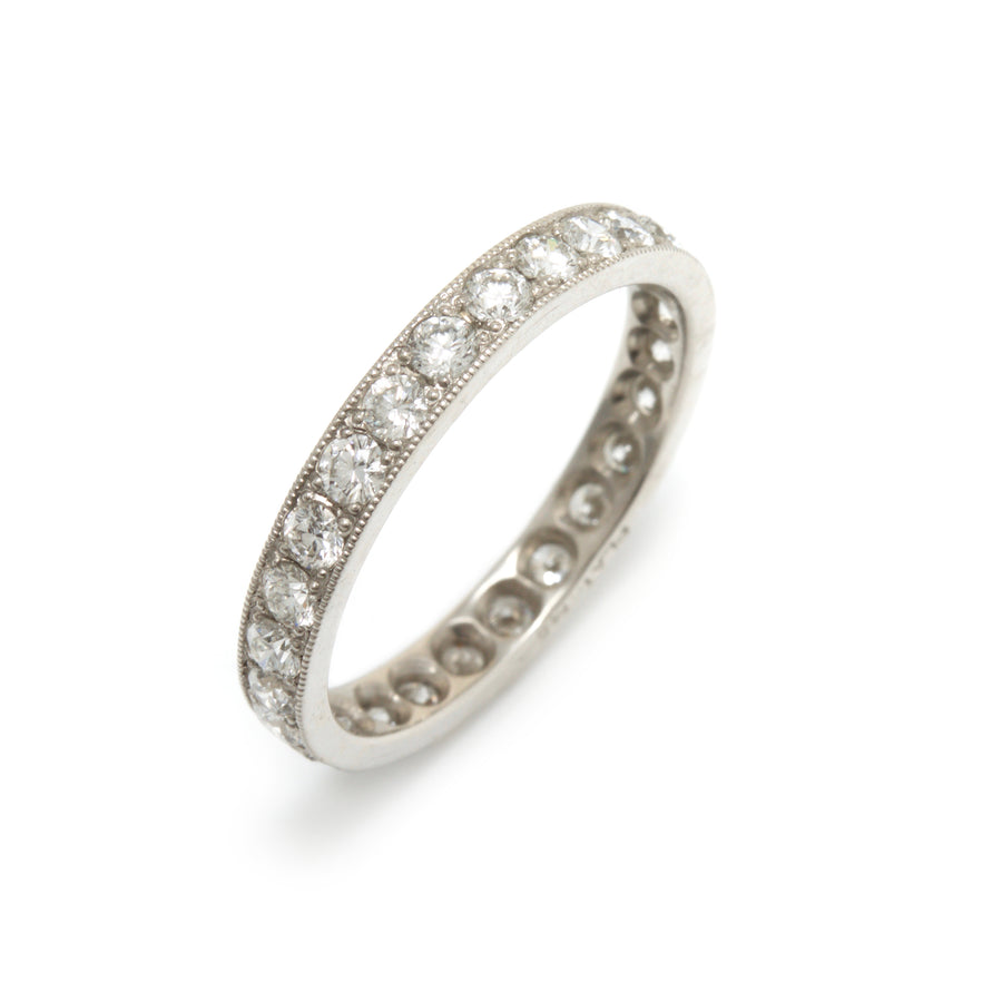 Endless Diamond Wedding Ring in Platinum