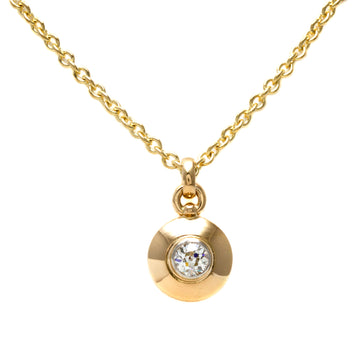 Bezel Set Diamond Pendant