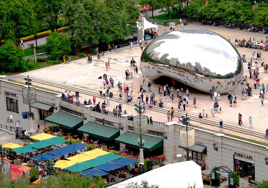 """Chicago's The Bean 