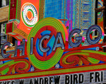 """Chicago Theatre"" Gallery Wrapped Canvas"