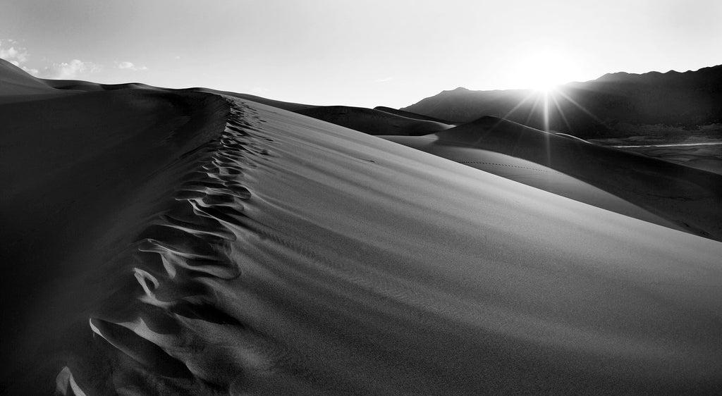 """Great Sand Dunes: Undulating Curves"" Gallery Wrapped Canvas"