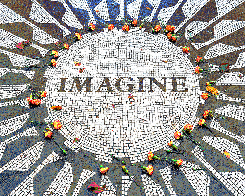 """Imagine"" Gallery Wrapped Canvas"