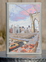 "Journal (hard cover) - ""Manhattan: Skewed"" 