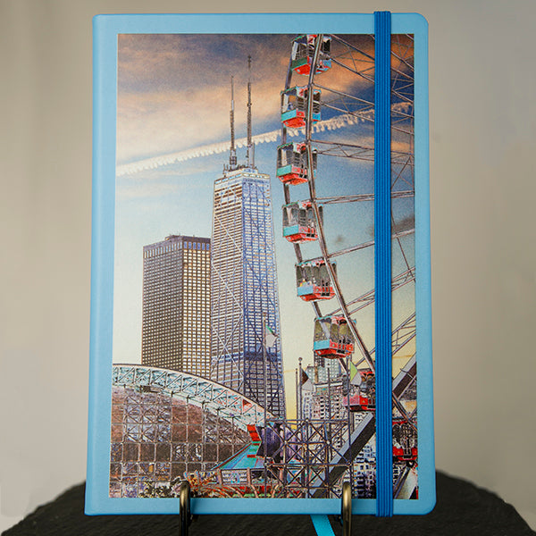 "Journal (hard-cover) ""Chicago Waterfront: A Day at Navy Pier 