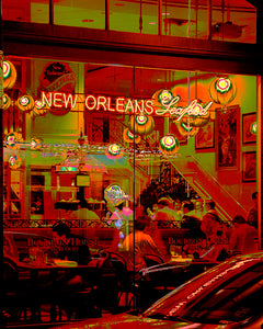 """New Orleans: Urban II"" Gallery Wrapped Canvas"