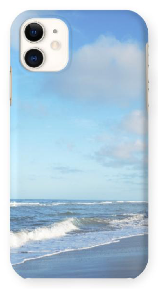 """Clouds & Waves"" Phone Case"