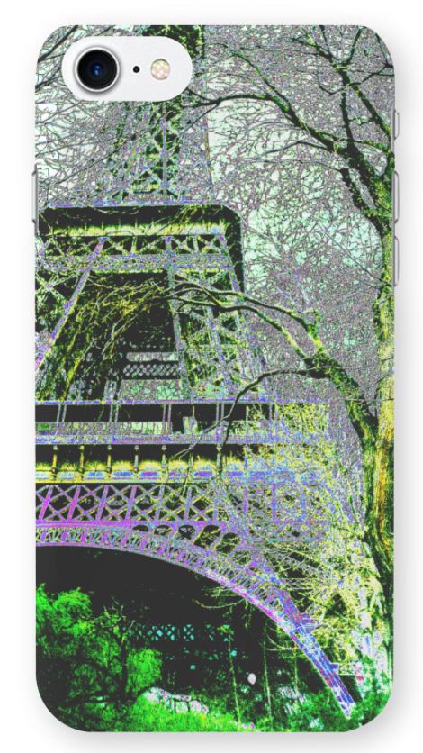 """Eiffel Tower: The Iron Tower"" Phone Case"