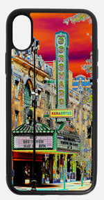 """Coronado Theater (blue)"" Phone Case"
