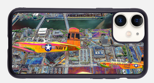 """Chicago's Waterfront: A Day at Navy Pier, Phone Case"