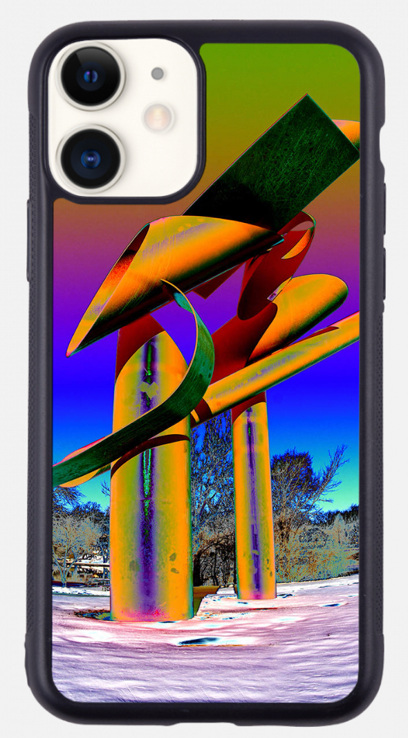 """Coronado Theater (orange)"" Phone Case"
