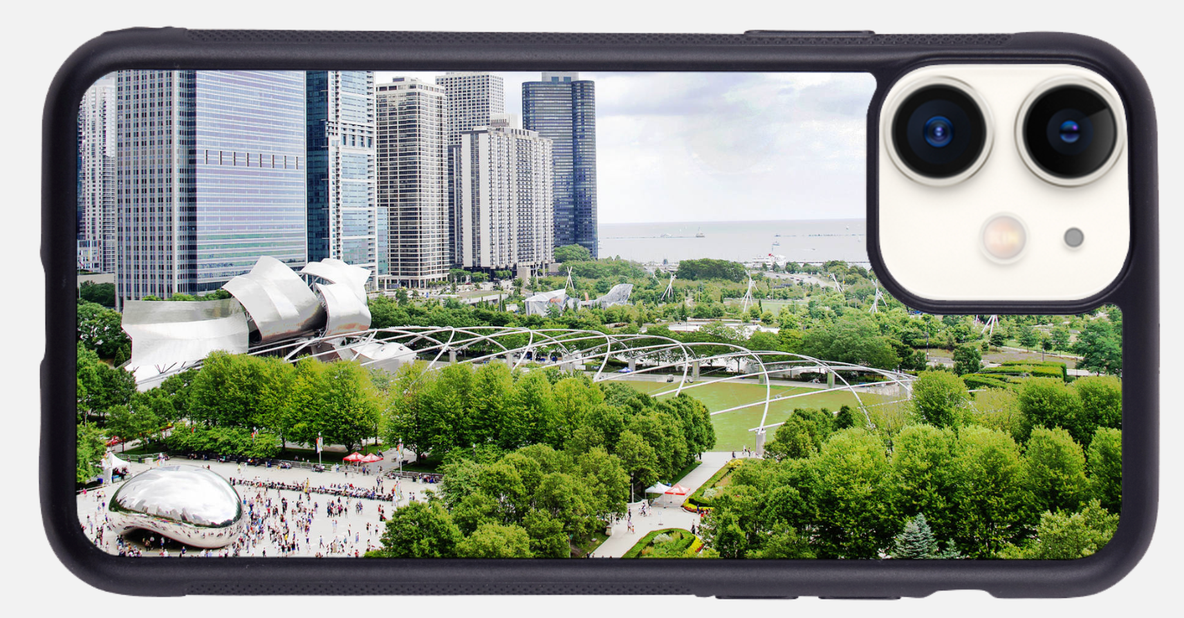 Chicago's Millennium Park, The Bean 7120 Phone Case
