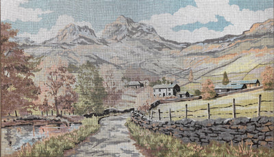 Langdale Lake District, an Anchor Tapestry Canvas