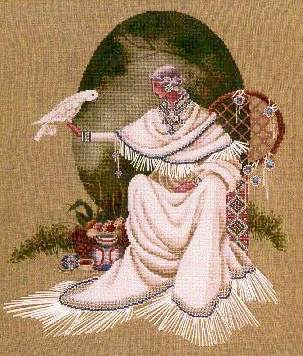 Spirit Dancer - a Butternut Road cross stitch pattern