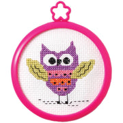 Owl - A Bucilla counted cross stitch kit